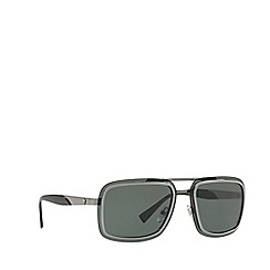 Versace - Gunmetal VE2183 square sunglasses