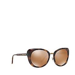 Michael Kors - Tortoise LISBON round sunglasses