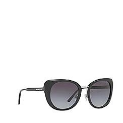 Michael Kors - Black Lisbon round sunglasses