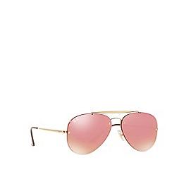 Ray-Ban - Gold BLAZE AVIATOR pilot sunglasses