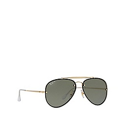 11c307bd15 Ray-Ban - Gold  Blaze Aviator  pilot sunglasses