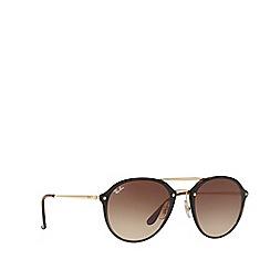 Ray-Ban - Havana rb4292n square sunglasses