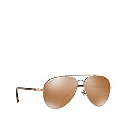Ralph Lauren - Gold RL7058 pilot sunglasses