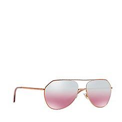 Dolce & Gabbana - Pink gold DG2191 pilot sunglasses