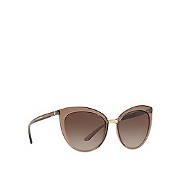 Dolce & Gabbana - Brown DG6113 cat eye sunglasses