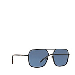 Dolce & Gabbana - Black/Blue DG2193J irregular sunglasses