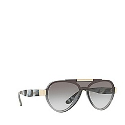 Prada - Grey PR 01US pilot sunglasses