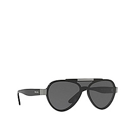 Prada - Black PR 01US pilot sunglasses