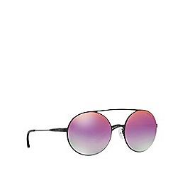Michael Kors - Black Cabo round sunglasses