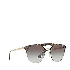 Prada - Havana PR 53US round sunglasses