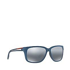 Prada Linea Rossa - Blue PS 03TS rectangle sunglasses