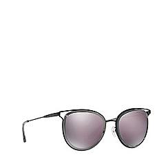 Michael Kors - Black/Grey HAVANA round sunglasses