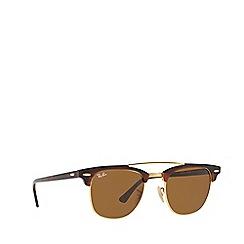 Ray-Ban - Havana CLUBMASTER square sunglasses