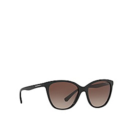Emporio Armani - Black EA4110 cat eye sunglasses