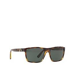 Polo Ralph Lauren - Havana 0PH4133 rectangle sunglasses