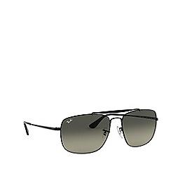 Ray-Ban - Black 'The Colonel' square sunglasses