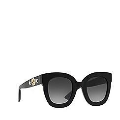 Gucci - Black GG0208S oval sunglasses