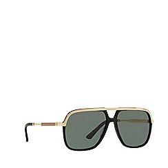 Gucci - Black GG0200S square sunglasses