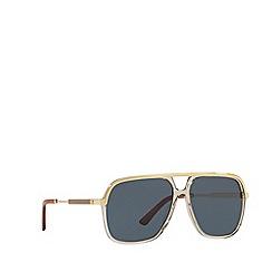 Gucci - Brown GG0200S square sunglasses