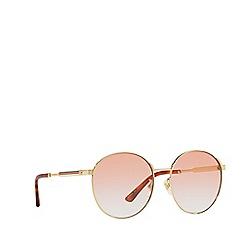 Gucci - Gold GG0206SK phantos sunglasses
