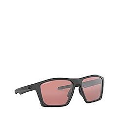 Oakley - Black TARGETLINE round sunglasses
