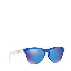 Oakley - Sapphire Frogskins Lite round sunglasses