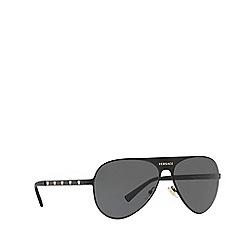 Versace - Black 0VE2189 pilot sunglasses