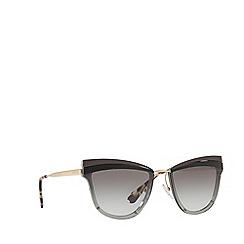 Prada - Grey 0PR 12US cat eye sunglasses
