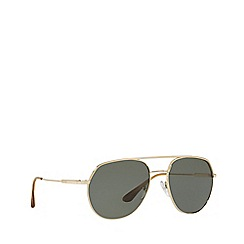 19b3b3fcb5 Prada - Gold 0PR 55US irregular sunglasses