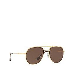 16af3297280 Prada - Gold 0PR 55US irregular sunglasses
