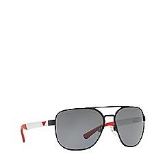 Emporio Armani - Black 0EA2064 pillow sunglasses