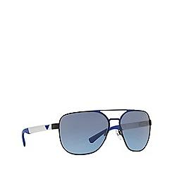 Emporio Armani - Light blue 0EA2064 pillow sunglasses