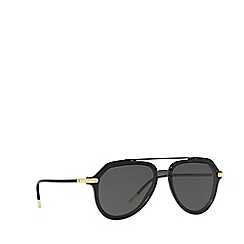 Dolce & Gabbana - Black 0DG4330 pilot sunglasses