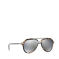 Dolce & Gabbana - Blue Havana 0DG4330 pilot sunglasses