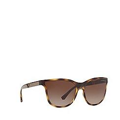 Emporio Armani - Havana 0EA4112 butterfly sunglasses
