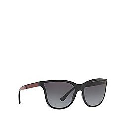 Emporio Armani - Black 0EA4112 butterfly sunglasses