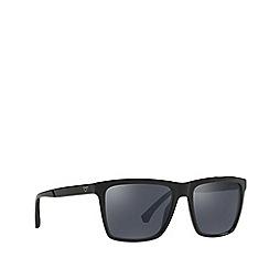 175ebb00e76 Emporio Armani - Black 0EA4117 rectangle sunglasses