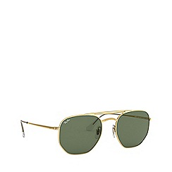 Ray-Ban - Gold 0RB3609 square sunglasses