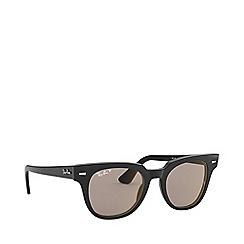 Ray-Ban - Black meteor square sunglasses