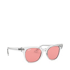 Ray-Ban - Transparent meteor square sunglasses