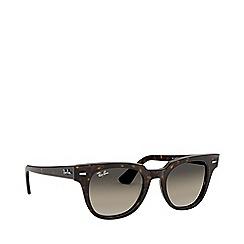 Ray-Ban - Havana meteor square sunglasses