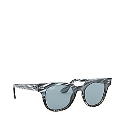 Ray-Ban - Blue meteor square sunglasses