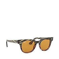 Ray-Ban - Green meteor square sunglasses