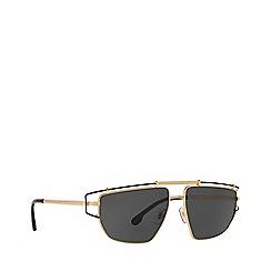 Versace - Gold 0VE2202 irregular sunglasses
