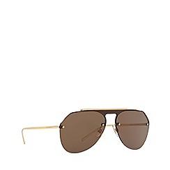 Dolce & Gabbana - Black flak 2.0 xl rectangle sunglasses