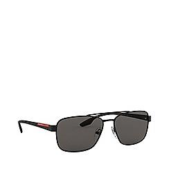 Prada Linea Rossa - Black lifestyle pillow sunglasses