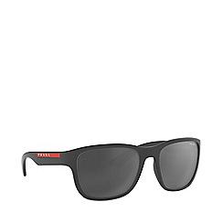 Prada Linea Rossa - Black m2 frame xl irregular sunglasses