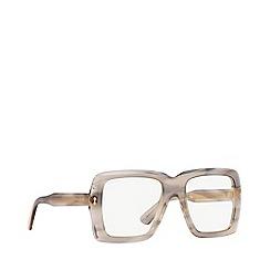Gucci - Tortoise GG0366S rectangle sunglasses