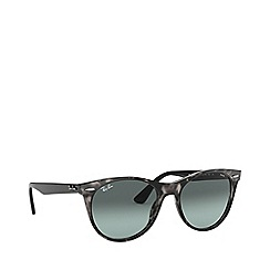 Ray-Ban - Grey Havana 0RB2185 square sunglasses