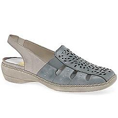 Rieker Taint Black Shoes